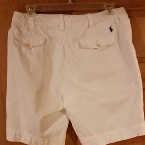 Polo by Ralph Lauren Shorts - POLO BY RALPH LAUREN - WHITE SHORTS w/Draw String